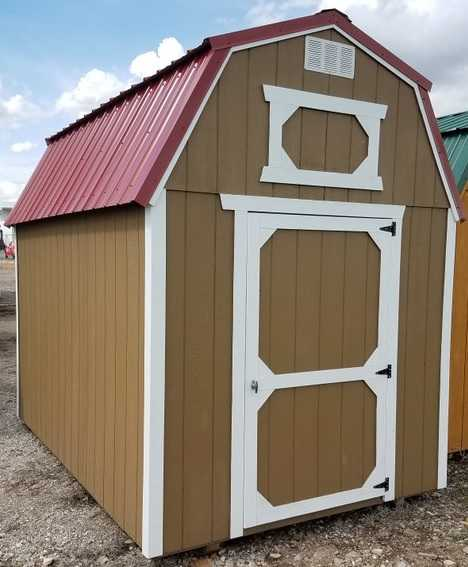 13 8x12 Lofted Barn Cache Valley Sheds